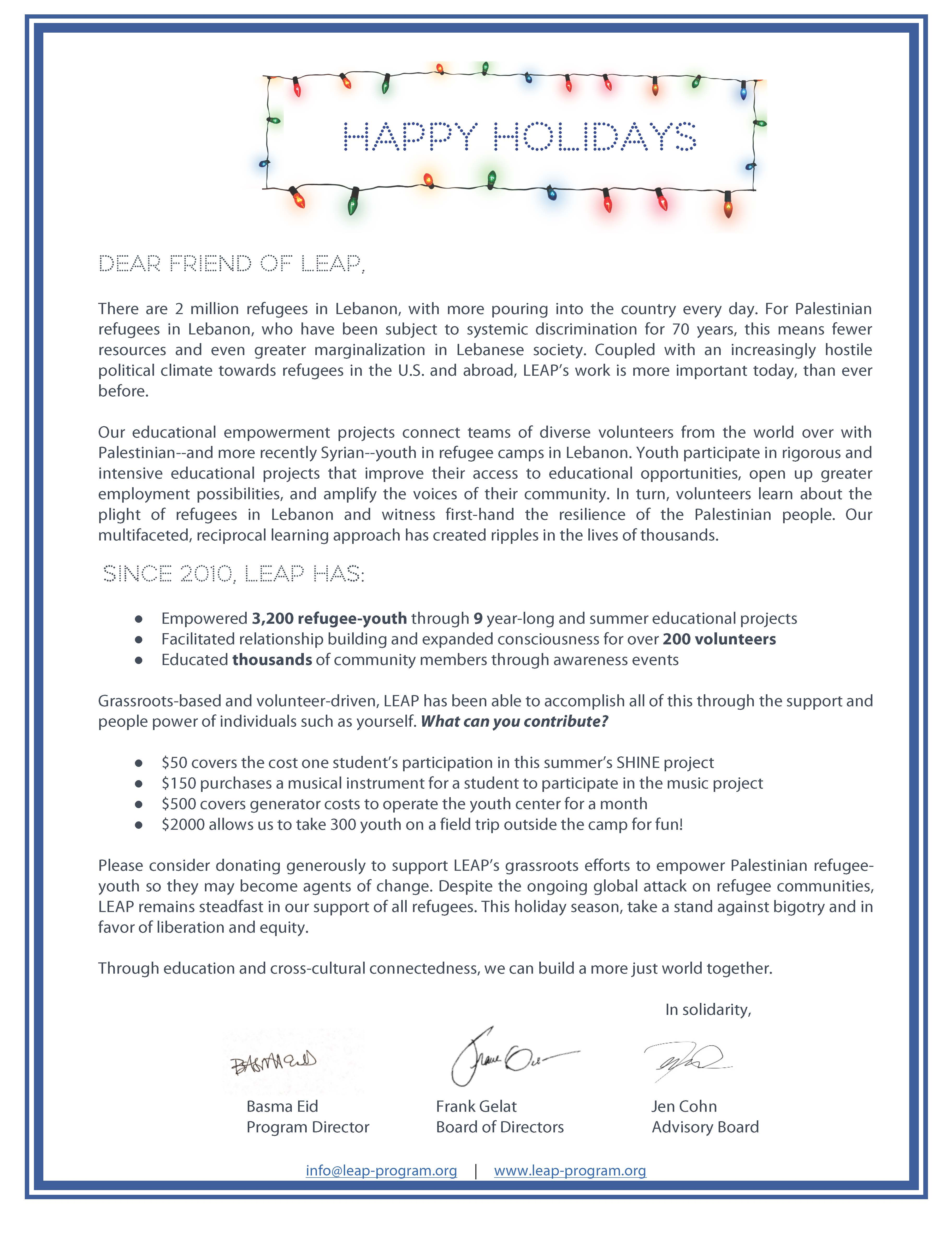 Holiday Fundraising Letter – Final_Page_1